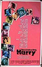 Deconstructing Harry Movie Poster