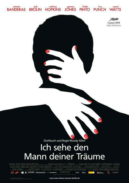 You Will Meet a Tall Dark Stranger Germany poster