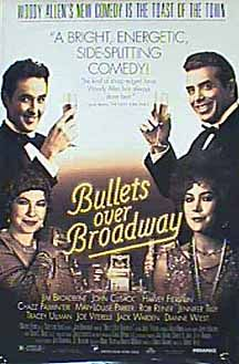 Bullets Over Broadway USA poster