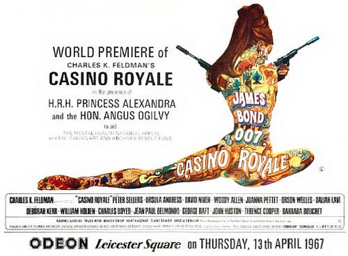 Casino Royale UK poster