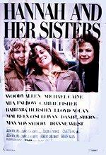 Hannah and Her Sisters USA poster