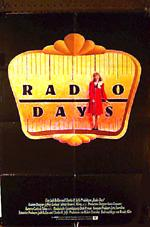 Radio Days DE movie poster