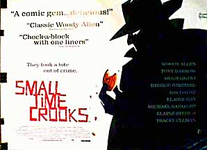Small Time Crooks UK poster