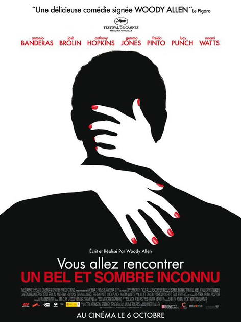 You Will Meet a Tall Dark Stranger France poster