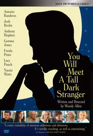 You Will Meet a Tall Dark Stranger USA poster